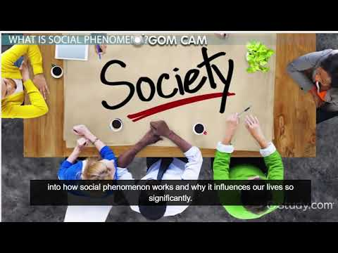 Social Phenomena