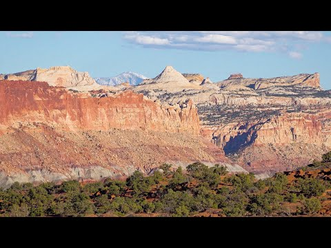 Capitol Reef National Park, Utah, USA In 4K Ultra HD