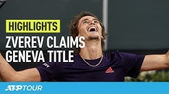Zverev Saves Two Championship Points For Geneva Title | HIGHLIGHTS | ATP