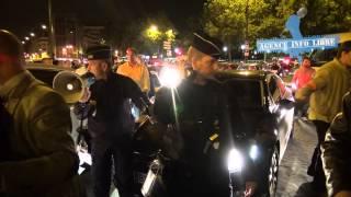 Nouvelle action coup de poing contre Uber Pop à Paris