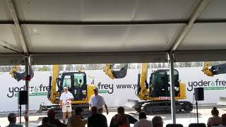 Video still for Yoder & Frey Mini Excavator Sale at Florida Auctions 2018