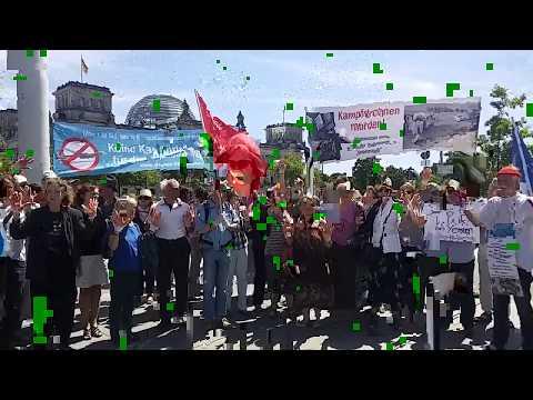 Stop the WAR in Yemen - Kampfdrohnen-Protestkundgebung vor dem Bundestag