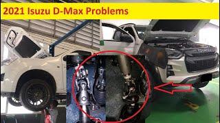 2021 Isuzu D-Max Problems