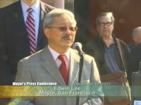 Mayor Lee & SFMTA Launch New Innovative Pay by Phone Parking Meters