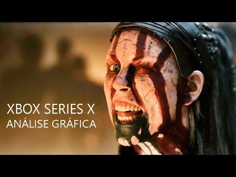 Xbox Series X – Analise Gráfica e Comparativa de Senua's Saga Hellblade II