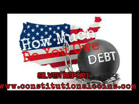 U.S. Debt How Much Do You Owe! Plan To Sneak Debt Ceiling Raise Silver and Gold Economic Collapse
