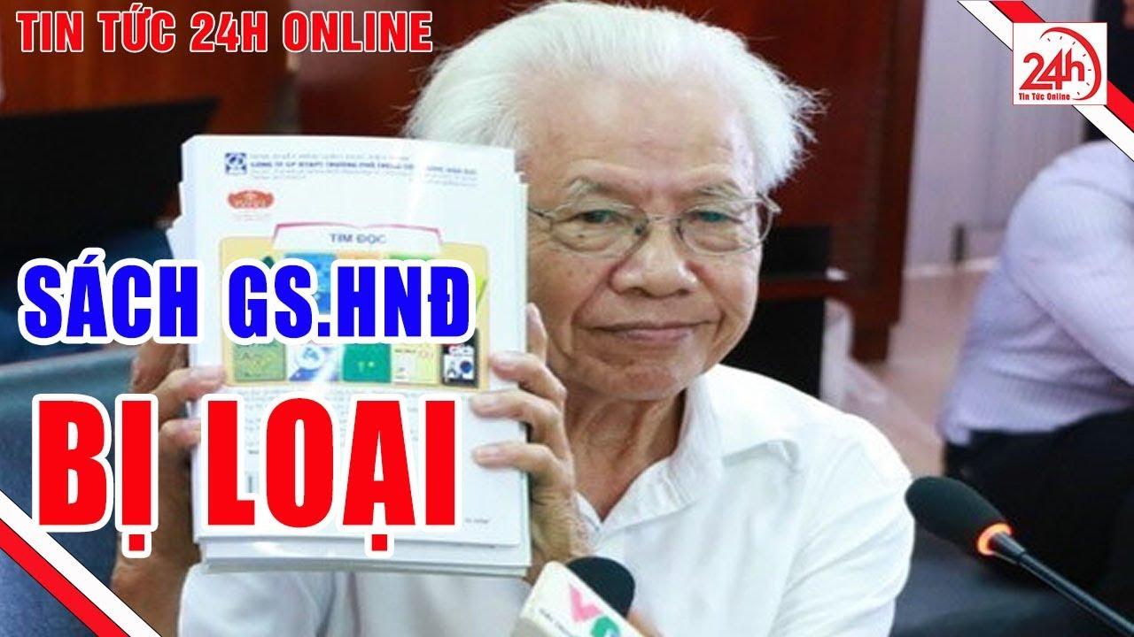Sách công nghệ của GS Hồ Ngọc Đại bị loại | Tin tức Việt Nam mới nhất | TT24h