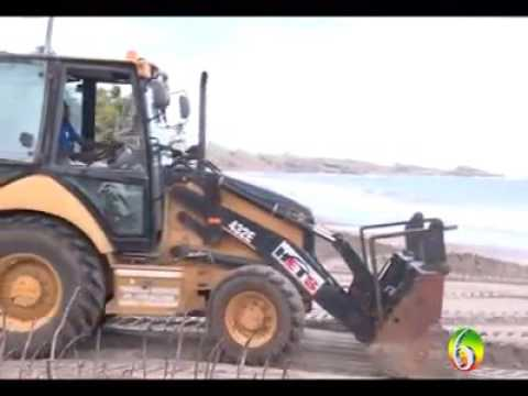 Illegal sand mining In  St Andrew Grenada