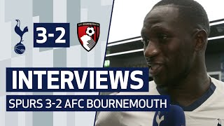 PLAYER REACTION | MOUSSA SISSOKO AND TOBY ALDERWEIRELD ON BOURNEMOUTH WIN | Spurs 3-2 Bournemouth