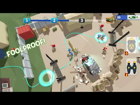 Casual Commando Gameplay (PC Game)  