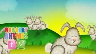 SLEEPING BUNNIES | Nursery Rhymes TV. Toddler Kindergarten Preschool Baby Songs.