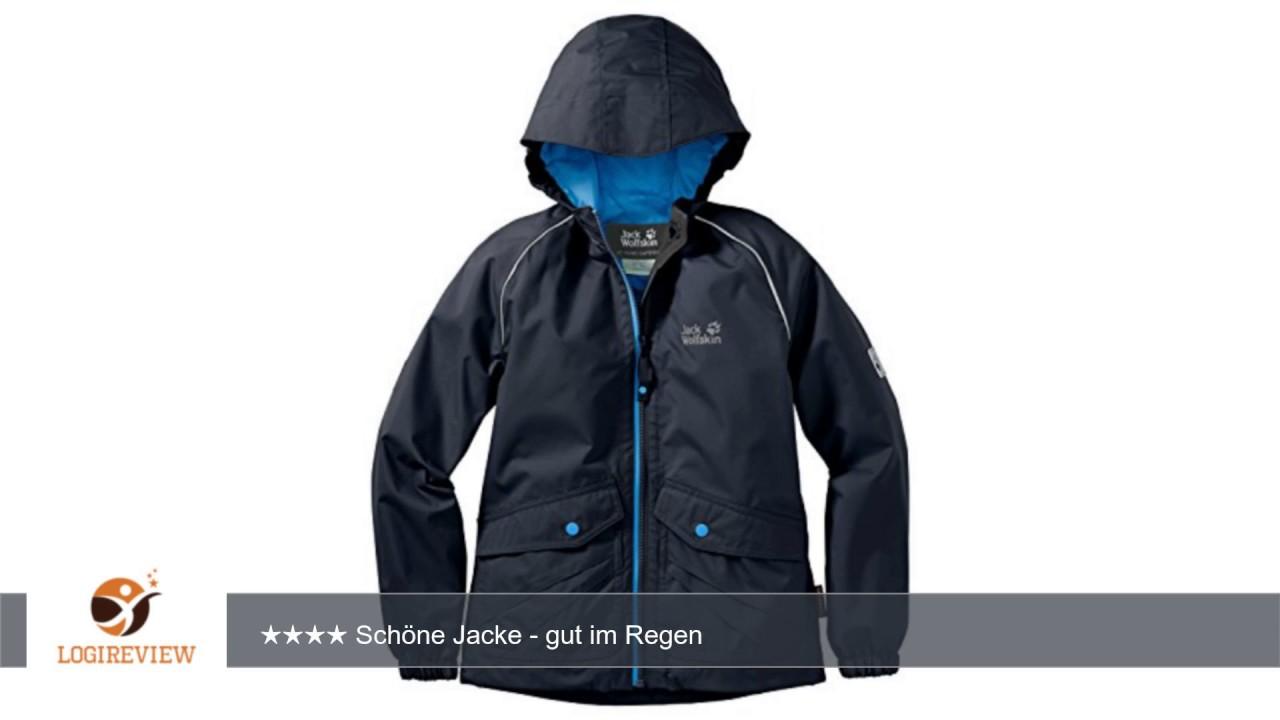timeless design 0e9ec c6869 Jack Wolfskin Kinder Jacke Marron Texapore JKT |  Erfahrungsbericht/Review/Test