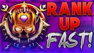 HOW TO RANK UP FAST! BLACK OPS 3 How To LEVEL UP FAST (Prestige Faster) BO3 Multiplayer Tips/Tricks