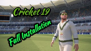 Ashes Cricket 2018 Pc Game| | Full Installation | | Working 100% | | Full Tutorial | | New 2018