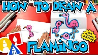 How To Draw A Flamingo Folding Surprise
