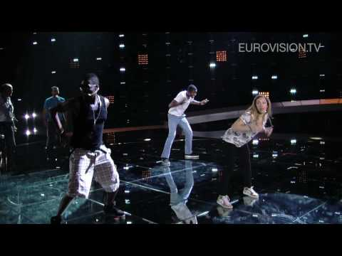 Jessy Matador's first rehearsal (impression) at the 2010 Eurovision Song Contest