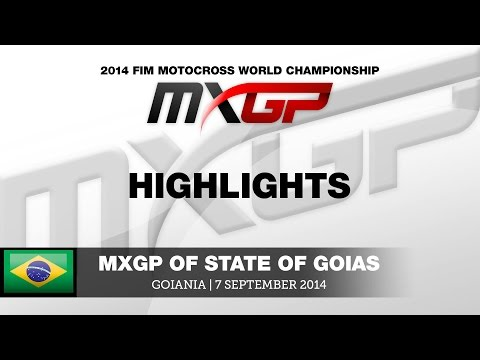 MXGP of State of Goias 2014 Highlights - Motocross