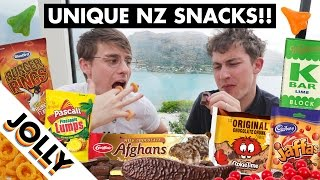 Snacks you can only find in New Zealand!!