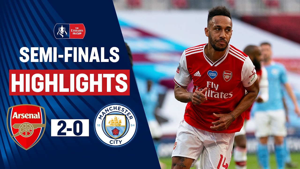 Download Lethal Aubameyang Sends Arsenal to the Final | Arsenal 2-0 Manchester City | Emirates FA Cup 19/20