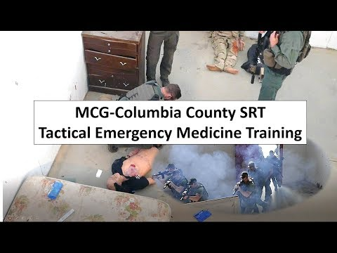 Columbia County SRT (SWAT) Tactical Medicine Training