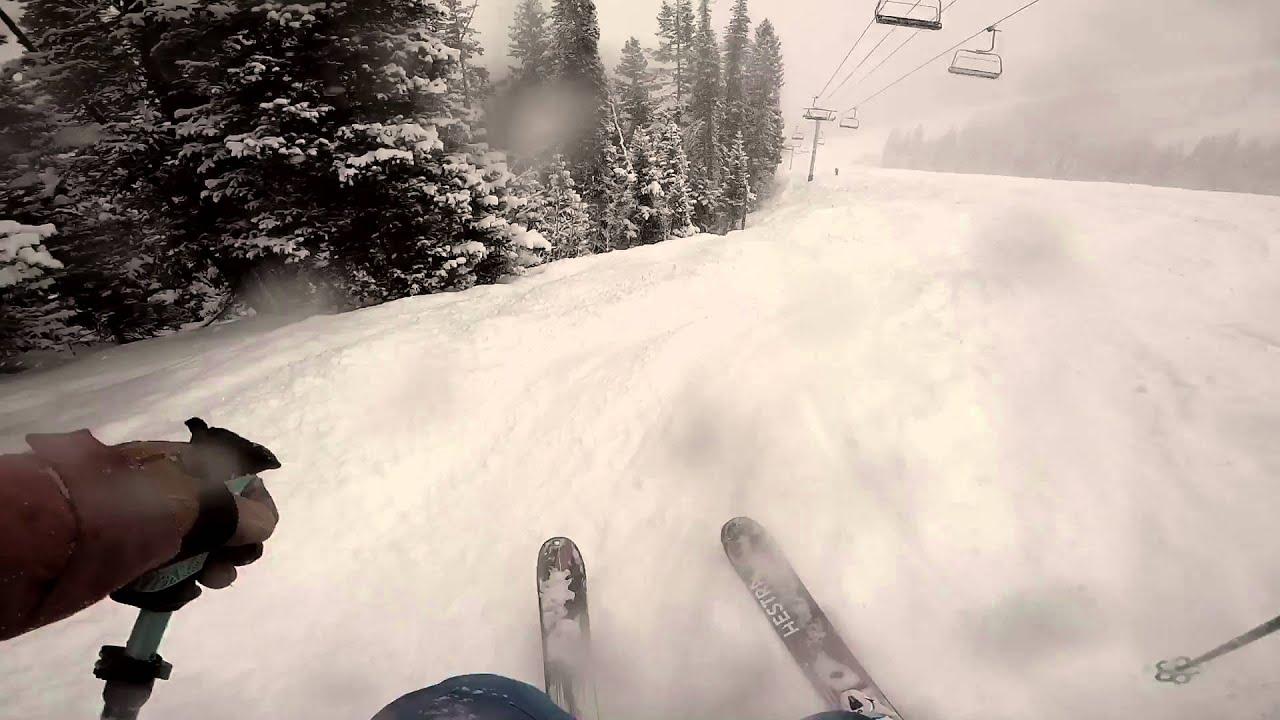 Val Cenis 2015 Mini Skis Salomon ShortKart 120 GoPro HERO4