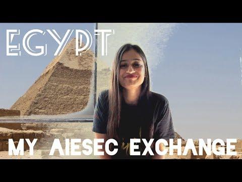 AIESEC Exchange | Global Volunteer | Egypt | Neha Kaur