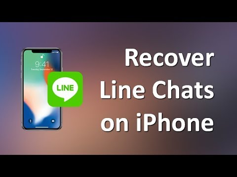 How To Restore LINE Chat History On IPhone XS/XS Max/XR/X
