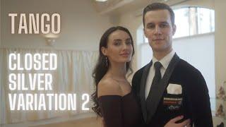 Tango Basic Syllabus Closed Silver Variation 2 by Iaroslav and Liliia Bieliei