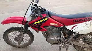 Bike review (2003 honda xr80r)