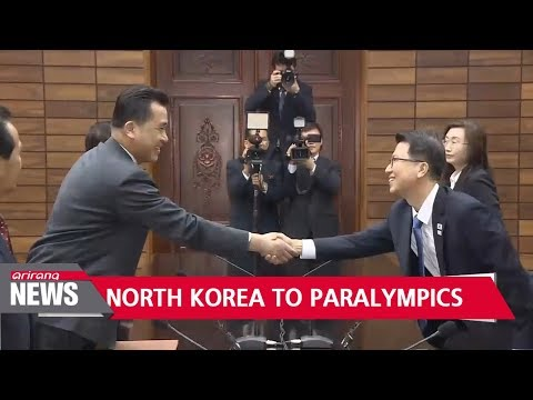North Korea's participation at Paralympics agreed... but Pyongyang pulls art troupe