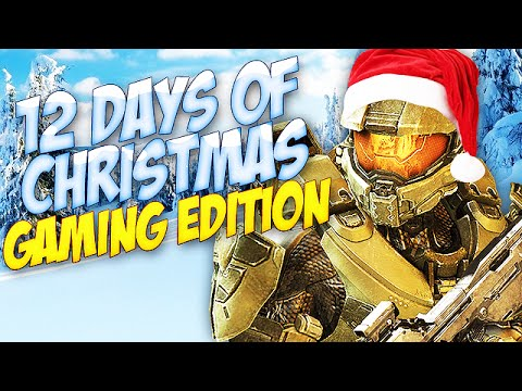 ♪ 12 Days of Christmas ♪  Gaming Edition! Song Parody