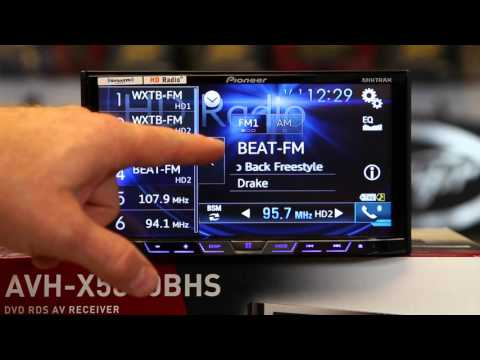 How to use the HD tuner on Pioneers  AVH X5800BHS and AVH X3800BHS