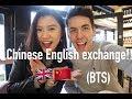 vlog 16 |Chinese youtuber London vlog , chinese english language exchange day!!