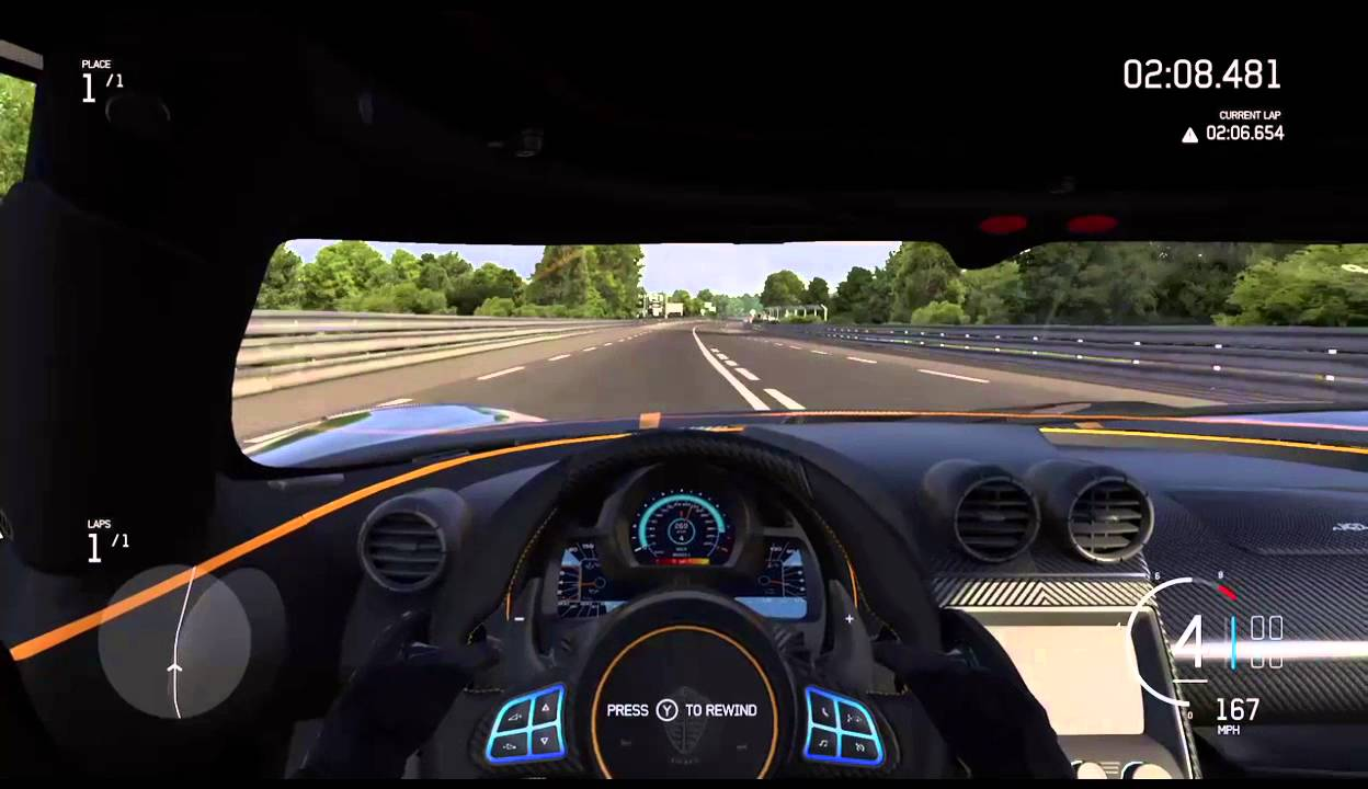 KOENIGSEGG ONE:1 ACCELERATION AND TOP SPEED (FORZA 6) - YouTube