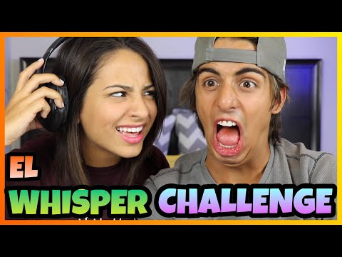 Daniel El Travieso - Hice El Whisper Challenge Con Mi Novia.
