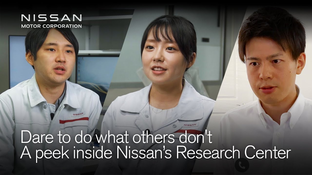 Nissan researchers are changing the future of mobility