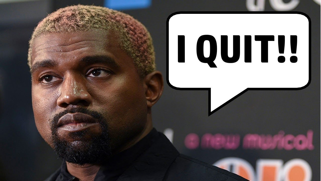 Kanye QUITS the Rap Industry (and Says Satan is Running L.A.)