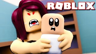 SURVIVE THE EVIL BABYSITTER IN ROBLOX!?
