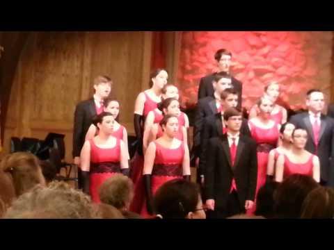 Lafayette Jefferson High School Varsity Singers 2/24/13