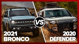 Ford Bronco vs. Land Rover Defender: Battle of the ages YouTube Videos