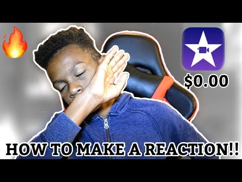 HOW TO MAKE A REACTION VIDEO FOR FREE!!! (iPhone, iPad, iPod, and Mac Book)
