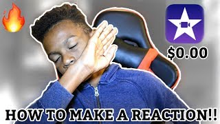 Video HOW TO MAKE A REACTION VIDEO FOR FREE!!! (iPhone, iPad, iPod, and Mac Book) download MP3, 3GP, MP4, WEBM, AVI, FLV Juni 2018