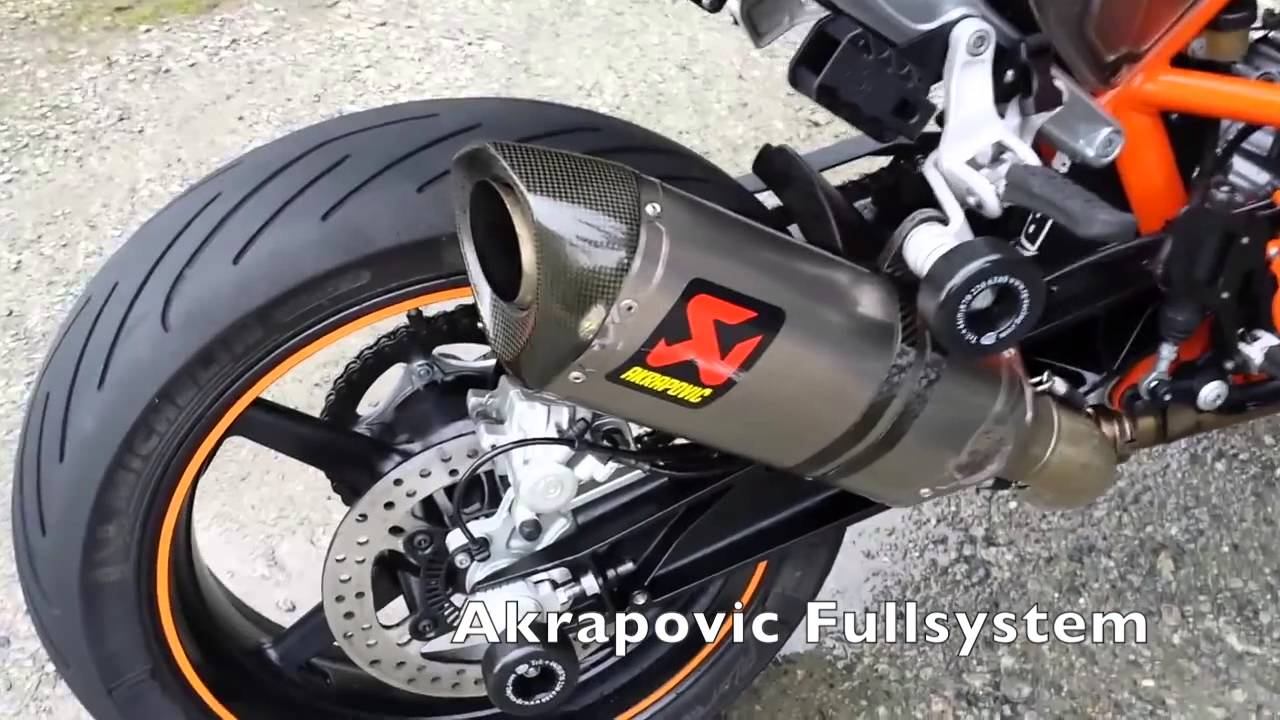 Exhaust Sound Comparison For Ktm Duke 690 Youtube