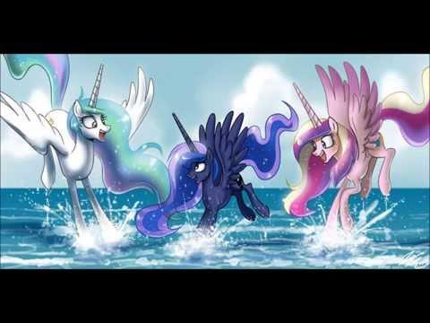 Hey, Soul Sister  Train MLP: Princess Celestia and Princess Luna