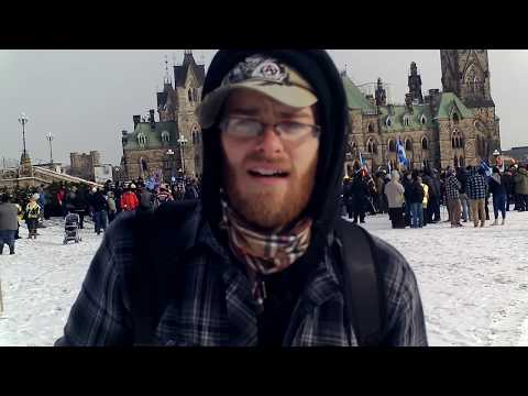 UN Compact For Migration Rally: Ottawa