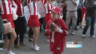 Boy defies the odds to join Husker football