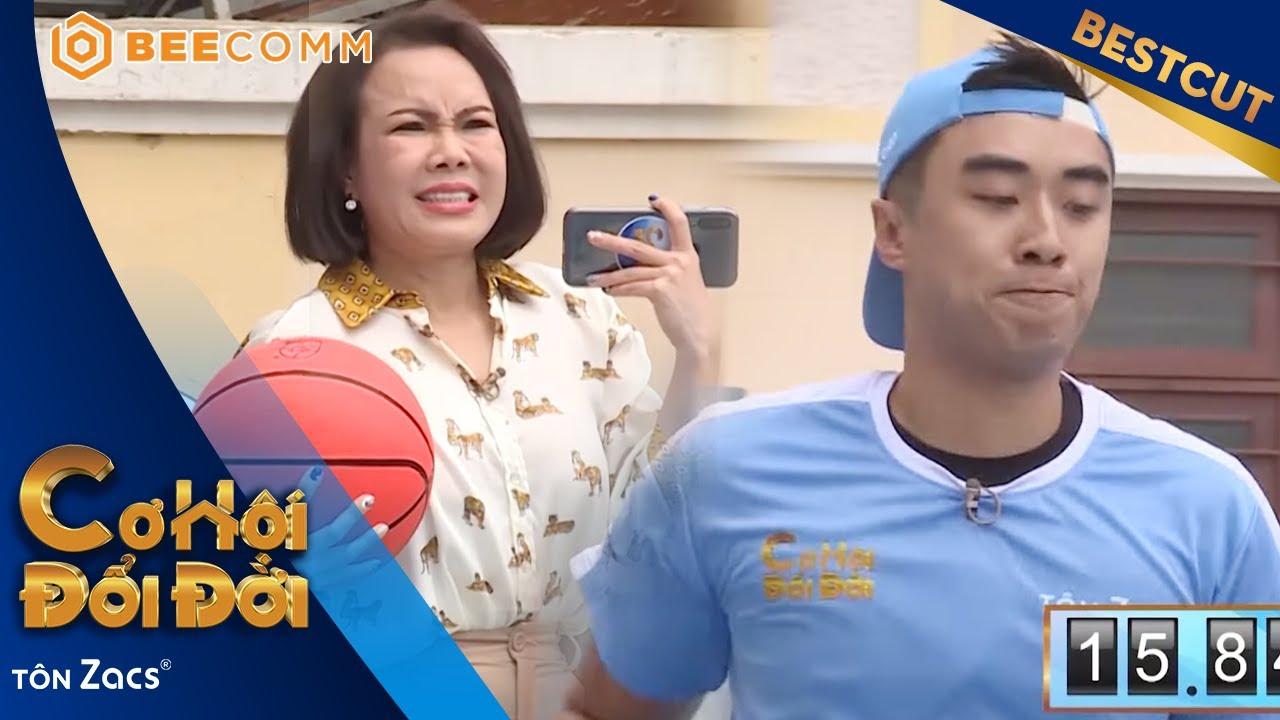 Hotboy bóng rổ CĂNG THẲNG cực độ khiến Việt Hương XÓT XA | CƠ HỘI ĐỔI ĐỜI TẬP 16