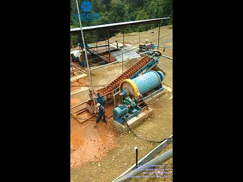 Tin ore processing plant