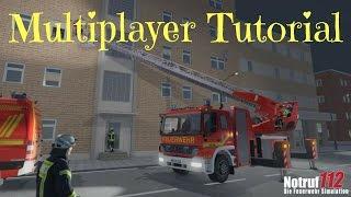 Multiplayer Tutorial wie alles funktioniert!!!Notruf 112 die Feuerwehr Simulation