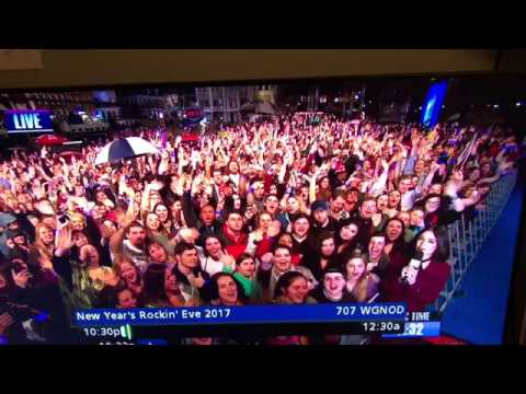 New Years Eve  Drunk Guy Live Tv In New Orleans